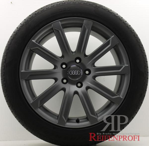Original Audi Q7 4L V12 20 Zoll Sline Sommerräder 4L0601025AD 10x20 ET44 Titan-Matt
